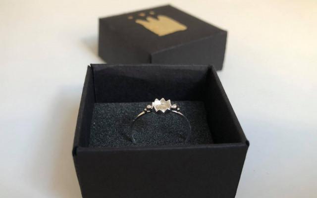 Prsten Korunka od Alžběty Dvořákové (vel.55)