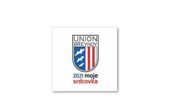 Samolepka Unionu Břevnov