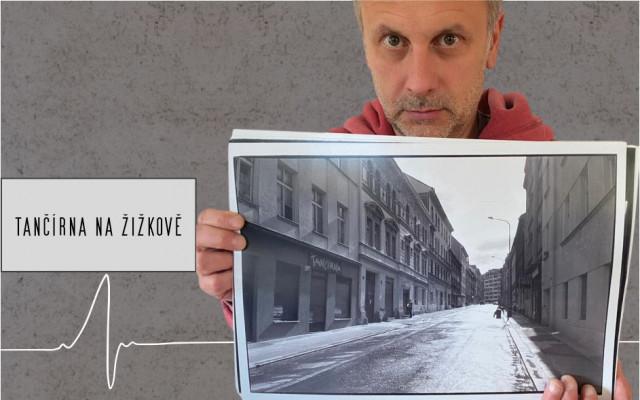 Umělecká fotografie od Igora Chmely č.3 TANČÍRNA NA ŽIŽKOVĚ