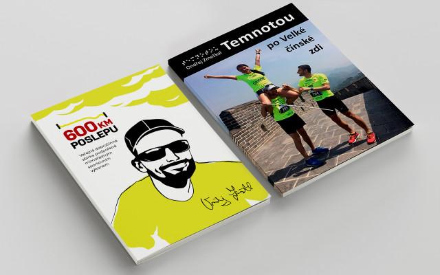 """Deník """"600 km poslepu"""" – tištěná publikace + """"Temnotou po velké čínské zdi"""" audio CD"""