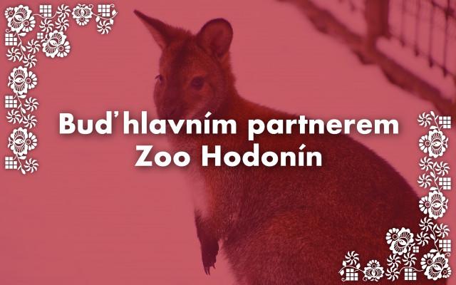 Buď hlavním partnerem Zoo Hodonín