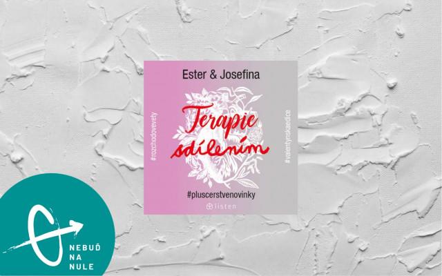 """Audiokniha """"Terapie sdílením"""" od dua Ester&Josefína"""