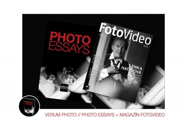 Kniha VERUM PHOTO – PHOTO ESSAYS + roční předplatné časopisu FotoVideo
