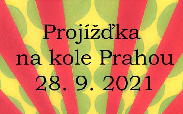 Projížďka na kole Prahou 28. 9. 2021