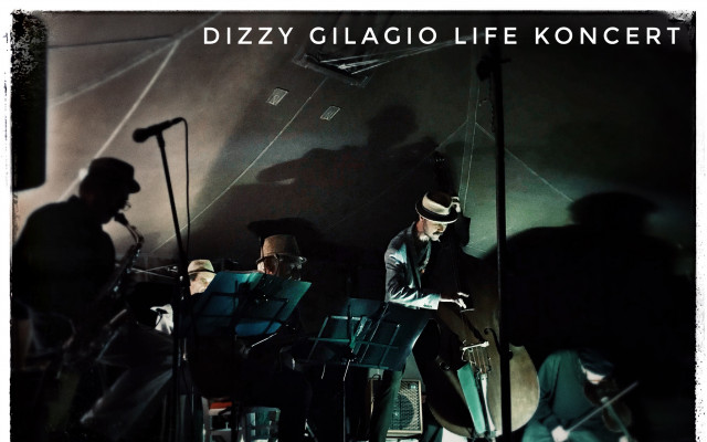 Deska kapely Dizzy Gilagio a volný vstup na podzimní koncert v Praze