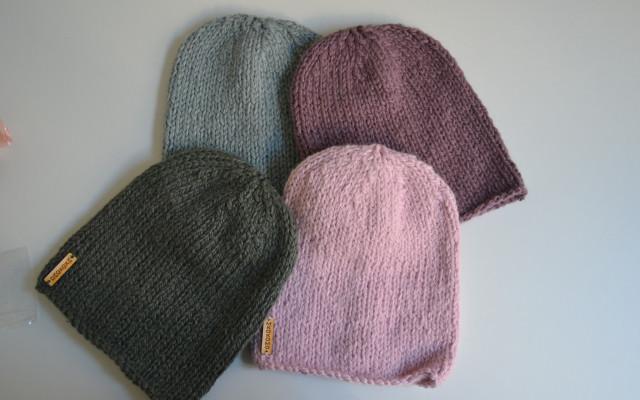 Pletená čepice od Mkokomo