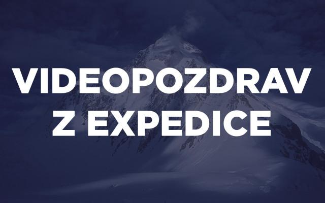 Videopozdrav z expedice