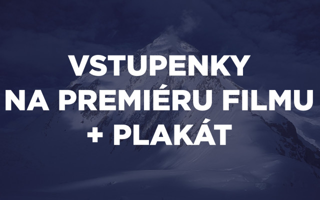Vstupenky na premiéru filmu + plakát
