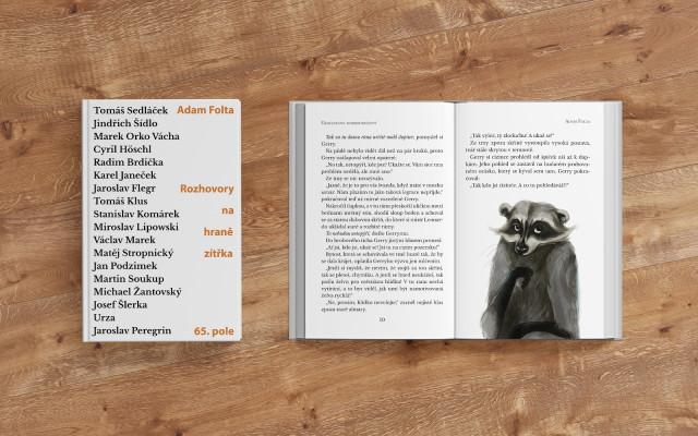 Kniha Gianlucových dobrodružství a k tomu Rozhovory na hraně zítřka
