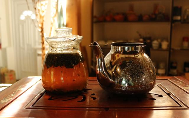 Čaj, jídlo i něco na zobání dle vašeho výběru