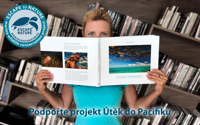 Kafe a dezert s Petrou + její kniha Doteky okamžiku s osobním věnováním