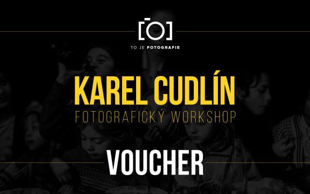To je fotografický workshop s Karlem Cudlínem