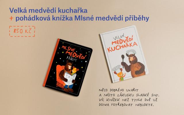 Velká medvědí kuchařka & pohádková knížka Mlsné medvědí příběhy
