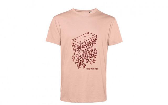 Pánské tričko Bydlet proti všem