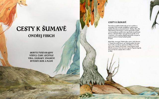 Kniha Cesty k Šumavě