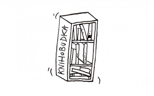 Sponzor Knihobudky - veřejné knihovničky