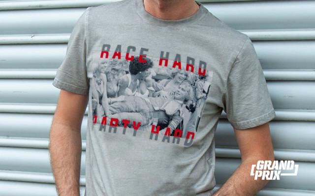 Tričko JAMES HUNT - RACE HARD