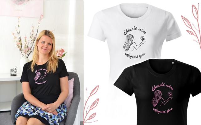Dámske tričko Dokonalá máma, nebezpečná fáma I. s doručením