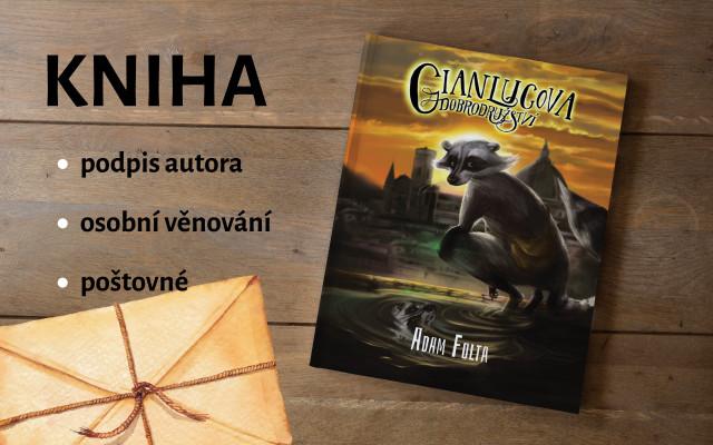 Kniha Gianlucova dobrodružství s osobním věnováním