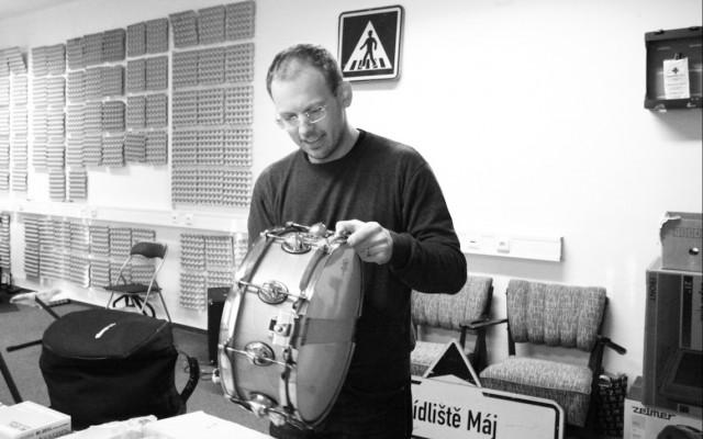 Lekce na bicí nástroje od Jana Bruny