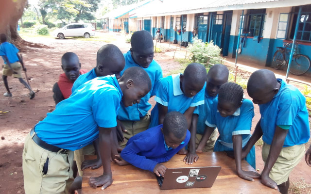 Online meeting s našimi mladými farmáři