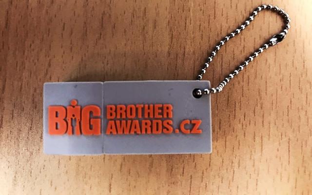 Flash disk Big Brother Awards