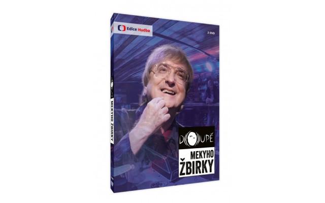 DVD Doupě Mekyho Žbirky I. řada s podpisem