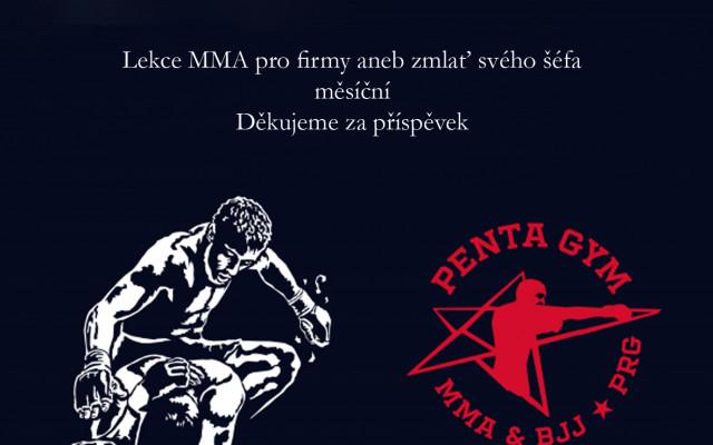 Lekce MMA pro firmy aneb zmlať svého šéfa měsíční