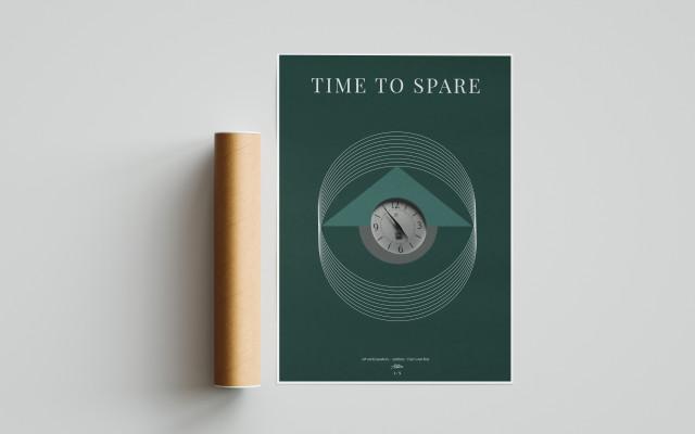 Autorský plakát Time to spare