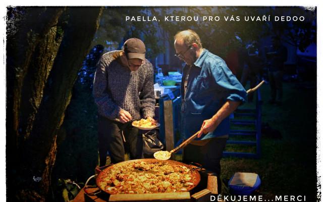 Pozvání na španělskou paellu, kterou pro vás uvaří Dedoo pro dvě osoby