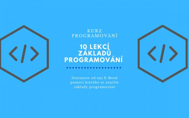 E-book 10 kroků jak se naučit programovat