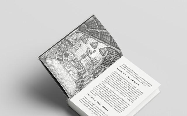 Podepsaná kniha + originál celostránkové ilustrace jako překvapení