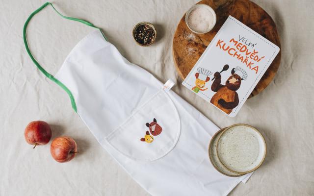 Kuchařka & Mlsná medvědí zástěrka