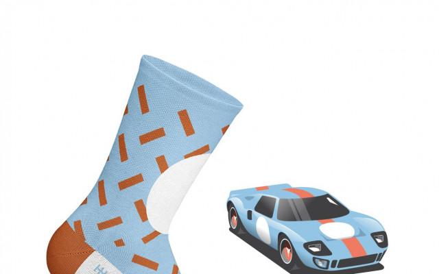 Motorsport ponožky Heel Tread
