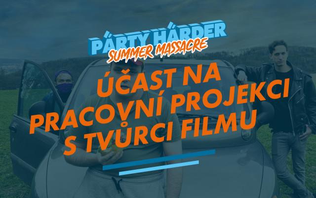 Účast na pracovní projekci s tvůrci filmu