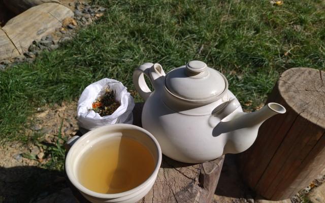 Čajová směs z našich bylinek