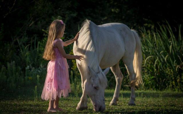 Focení s poníkem