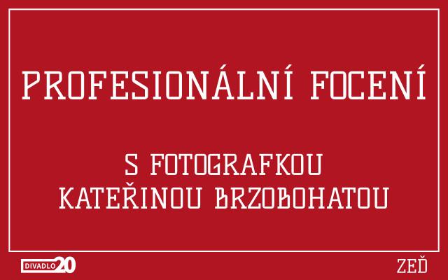 Profesionální focení s fotografkou Kateřinou Brzobohatou