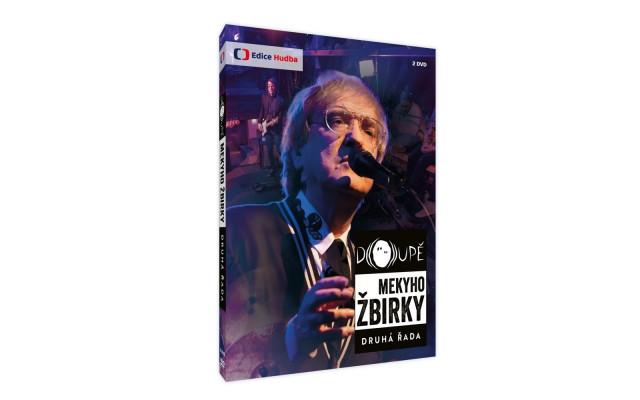 DVD Doupě Mekyho Žbirky II. řada s podpisem
