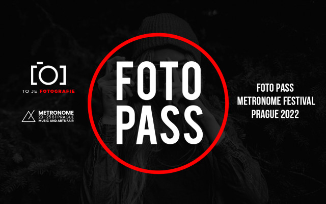 To je fotopass Metronome Prague 2022