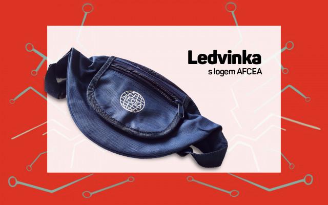 Ledvinka s logem AFCEA