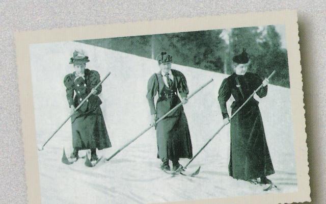 Exkluzivní kurz lyžování na dobových lyžích