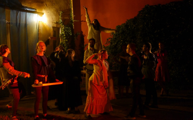 Pohlednice od herce Divadla Aldente