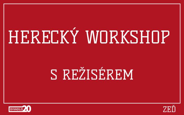Herecký workshop s režisérem