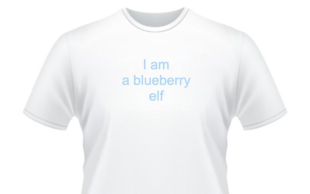 """Získejte tričko """"Jsem borůvkový skřítek"""" & 1 ks gfBar 2 & členství v gfClubu (až 30% sleva na gfBar produkty)"""