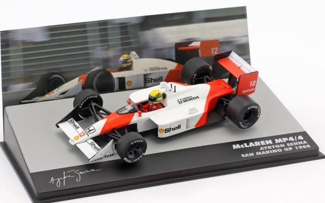 Oficiální sběratelský model Ayrton Senna McLaren