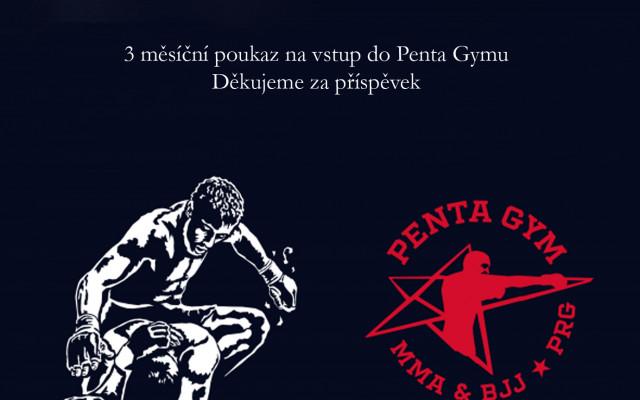 3 měsíční poukaz na vstup do Penta gymu