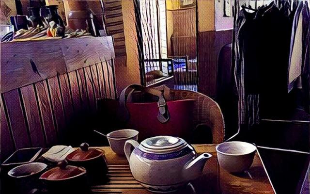 Čaj a něco na zobání podle vašeho výběru