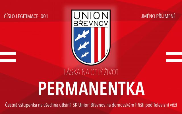 Doživotní permanentka SK Union Břevnov