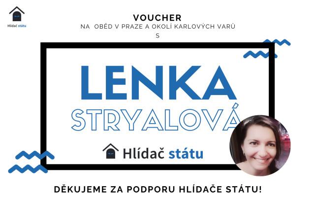 Setkání s Lenkou Stryalovou